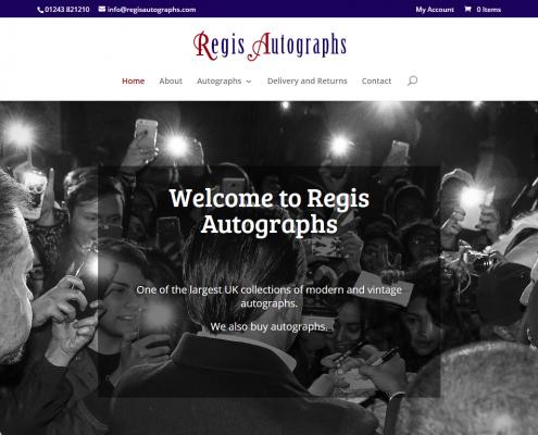 Regis Autographs